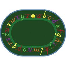 Alpha Script Rug