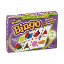 Trend Enterprises Colors And Shapes Bingo - For Ages 3 And Up
