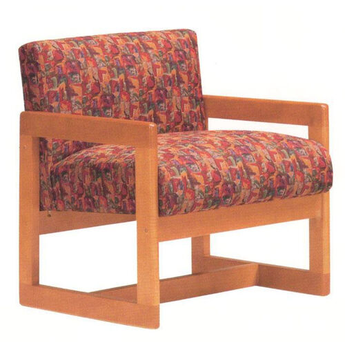 Our 5901 Lounge Chair w/ Wood Frame, Upholstered Spring Back & Seat - Grade 1 is on sale now.