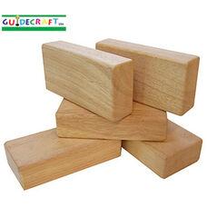 5 pc Hardwood Unit Block Set