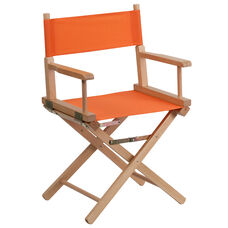 Standard Height Directors Chair in Orange