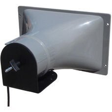 Add On Horn Speaker with Top Stacking Mount - Black - 11
