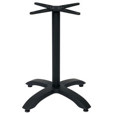 Bali 4-Leg Black Powder Coated Aluminum Base