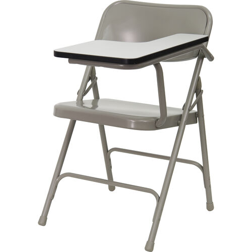 Our Premium Steel Folding Chair with Left Handed Tablet Arm is on sale now.