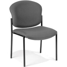 Manor Guest and Reception Chair - Gray Fabric