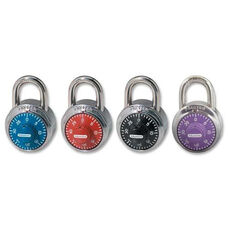 Master Lock Company Colored Dial Combination padlocks