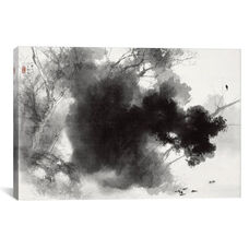 Birds at Roost by Takeuchi Seiho Gallery Wrapped Canvas Artwork - 40