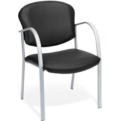 Our Danbelle Anti-Microbial and Anti-Bacterial Vinyl Contract Reception Chair - Black is on sale now.