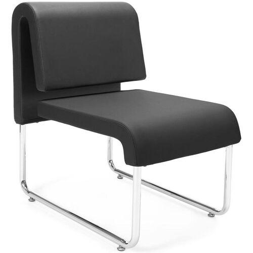 UNO Lounge Chair - PU Black