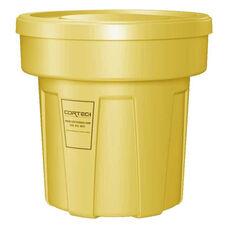 25 Gallon Cobra Food Grade/General Use Trash Can - Yellow