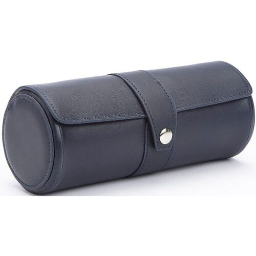 Our Deluxe Watch Roll - Top Grain Nappa Leather - Blue is on sale now.