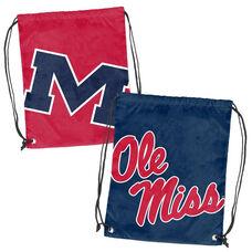 University of Mississippi Team Logo Doubleheader Drawstring Backsack