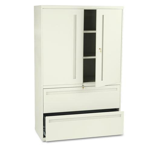 Our HON® 700 Series Lateral File w/Storage Cabinet - 42w x 19-1/4d - Putty is on sale now.