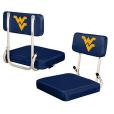 West Virginia University Team Logo Hard Back Stadium Seat