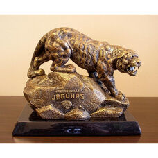 Jacksonville Jaguars Tim Wolfe Sculpture