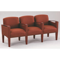 Brewster Series 3 Seats with Center Arms