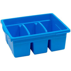 Royal Large Divided Environmentally Friendly Tough Plastic Tub - Blue - 15.63