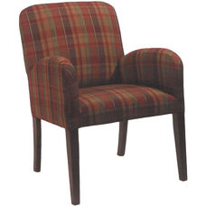 5804 Lounge Chair w/ Fully Upholstered Back & Seat - Grade 1