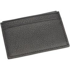 RFID Blocking Credit Card Wallet - Boston Leather - Black