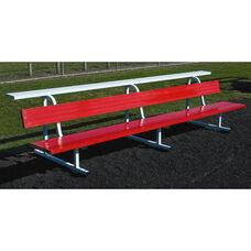 Big B Portable 15 Foot Long Football Team Benches