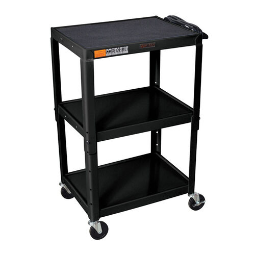 Our Open Shelf Utility & Audio Visual Cart is on sale now.
