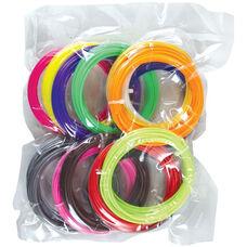 3D Magic Pen ABS Filament Pack - 15 Vibrant Colors
