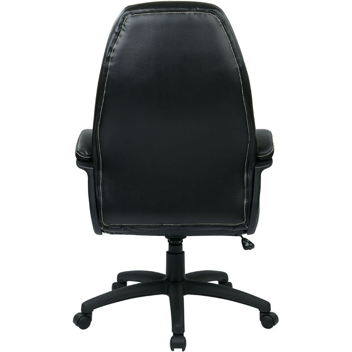 Work Smart Black Exec Chair Fl3422 U6 Bizchair Com