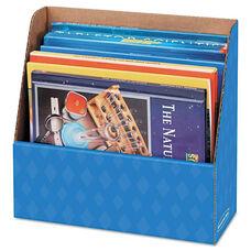 Bankers Box® Folder Holder Storage Box - 11 3/4 x 4 1/2 x 11 - Blue