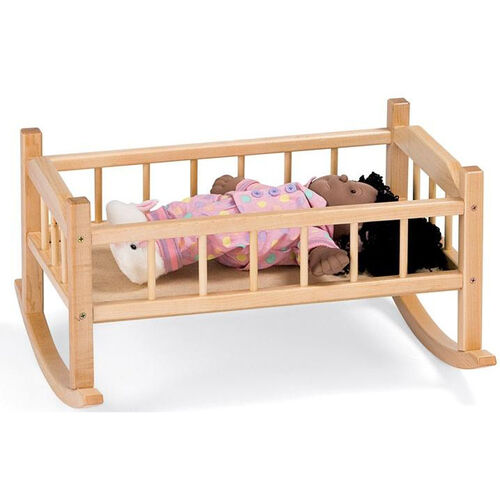 Our Traditional Doll Cradle is on sale now.