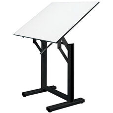 Ensign Black Drawing Table - 42