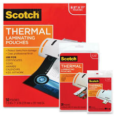 3M Scotch Thermal Laminating Pouches - 9