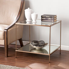 Knox End Table - Warm Gold