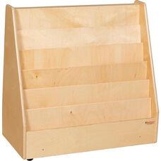 Wooden Mobile Flush Markerboard Book Display - 30