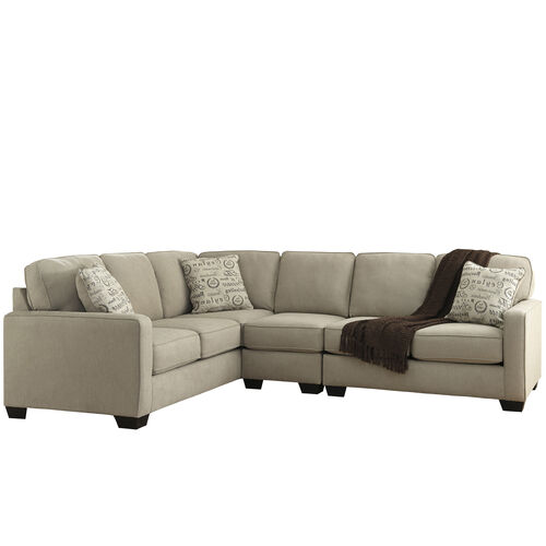 Our Signature Design by Ashley Alenya 3-Piece Left Side Facing Sofa Sectional in Quartz Microfiber is on sale now.