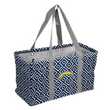 San Diego Chargers Team Logo Double Diamond Picnic Carry All Caddy