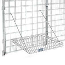 Chrome Grid Shelf - 16 3/4
