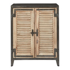 Inspired By Bassett Marbella Console with 2 Doors