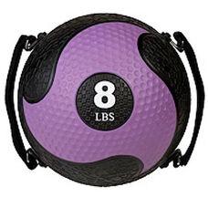 8 lbs. Rhino Ultra-Grip Medicine Ball in Purple