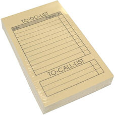 Refill Pack of 100 To Do List Cards for Note Jotters