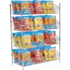 Chrome Basket Supply Unit - 24