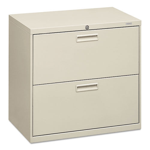 Our HON® 500 Series Two-Drawer Lateral File - 30w x 19-1/4d x 28-3/8h - Light Gray is on sale now.