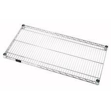 30''W x 42''D Chrome Wire Shelf