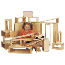 Hollow Blocks Set with Reinforced Joints