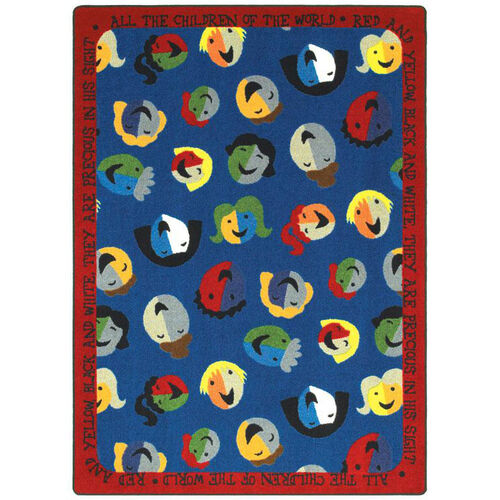Our Children of the World Rug is on sale now.