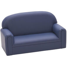 Just Like Home Enviro-Child Toddler Size Sofa - Deep Blue - 34