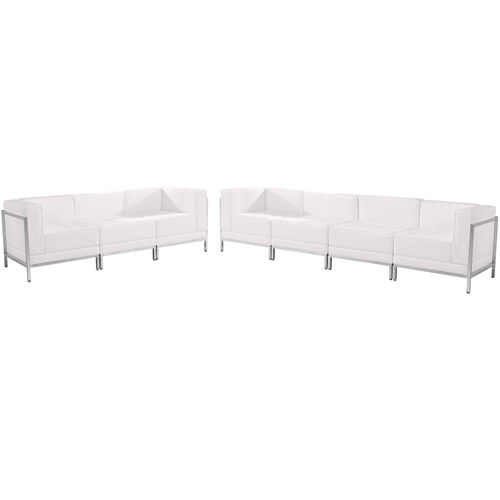 Our HERCULES Imagination Series Melrose White LeatherSoft Sofa Set, 5 Pieces is on sale now.