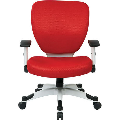 Our Space Pulsar Padded Mesh Seat and Back Managers Office Chair - Red is on sale now.