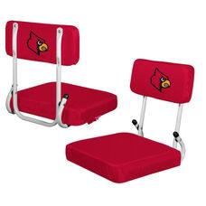 University of Louisville Team Logo Hard Back Stadium Seat