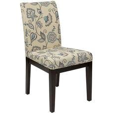 Ave Six Dakota Parsons Chair - Avignon Sky Fabric