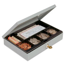 Mmf Industries Heavy-Gauge Steel Cash Box